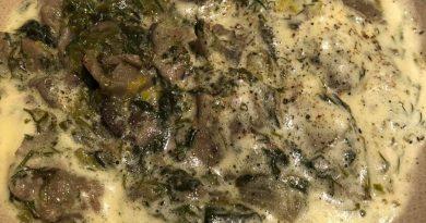 Μανιτάρια φρικασέ ή αλλιώς vegan μαγειρίτσα